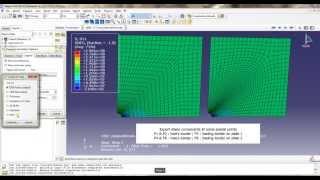 ABAQUS Tutorial 2 : Thermal gradient + Pressure on spherical tank