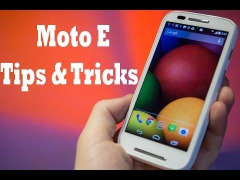 Motorola Moto E: How to take Screenshot.
