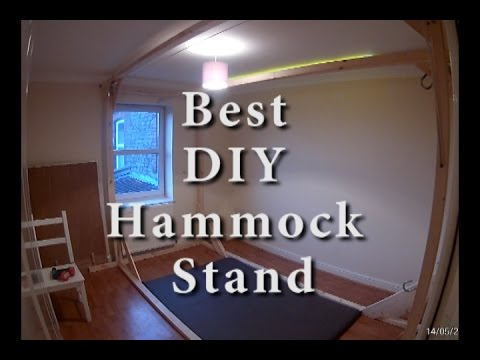 How to Build a Hammock Stand. Best Hammock Stand for Small Apartments