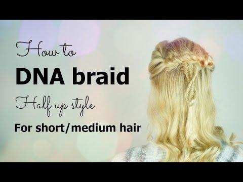 Three (3) strand fishtail braid tutorial for short hair | Hairs Affairs