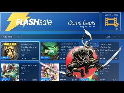 NA PSN Flash Sale - Attack of the Japanese Games - 7 Easy PS4 Platinum Games - Ends 9/25