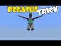 PEGASUS TRICK | Minecraft PE (Pocket Edition) MCPE