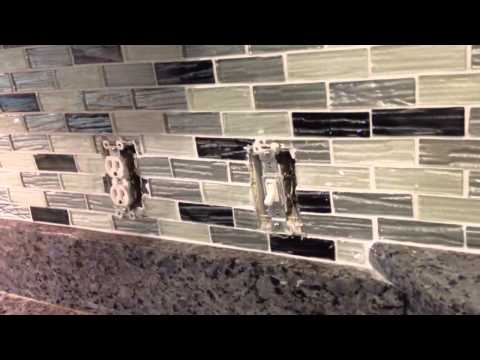 How To Do Receptacles In A Tile Backsplash