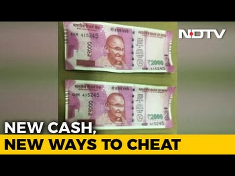 How To Make Fake Rs. 2,000 Notes? Bengaluru Men Used A Copier And Glitter Pen