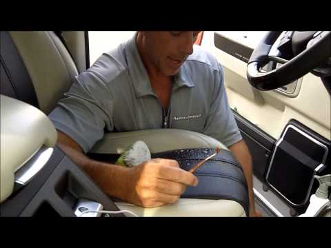 Cleaning Perforated Car Leather: The perfect tool from a surprising industry