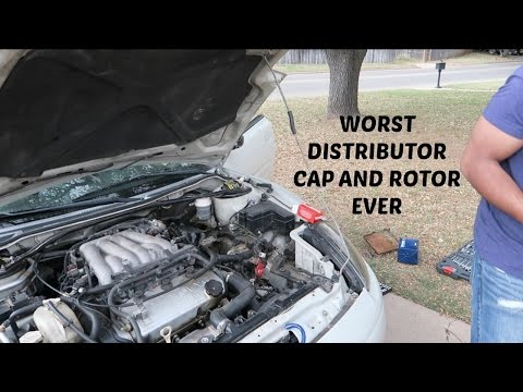 WORST DISTRIBUTOR CAP AND ROTOR YOU COULD IMAGINE!!