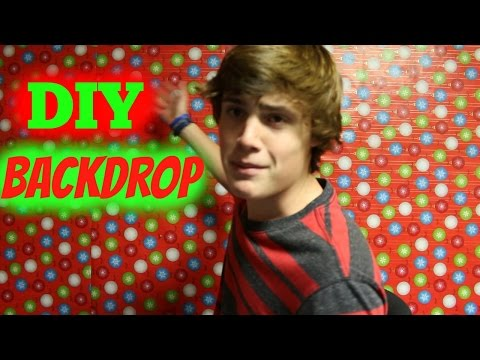 DIY Christmas Backdrop