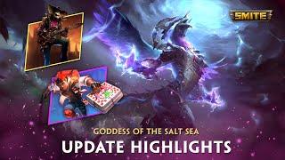 SMITE - Update Highlights - Goddess of the Salt Sea