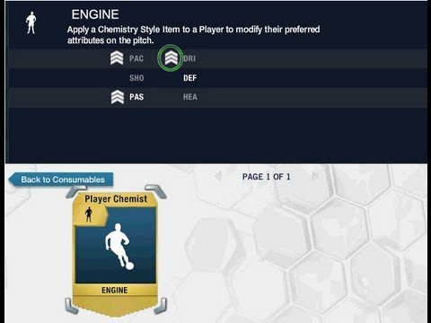 Chemistry Styles To Improve First Touch and Dribbling Fifa 14 FUT  + others