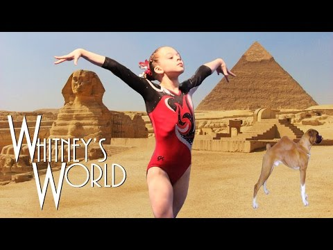How to do a Front Walkover | Gymnastics at the Pyramids | Whitney