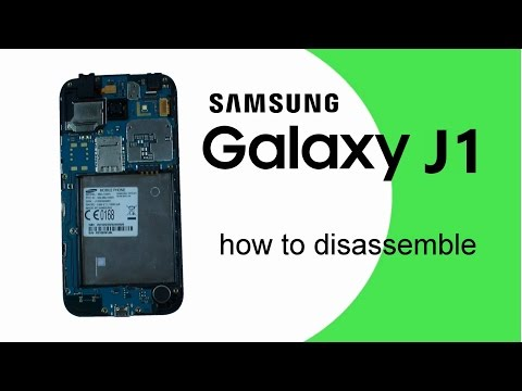 Samsung J1 Disassembly GALAXY J1 J100 (SM-J110) How to Disassemble