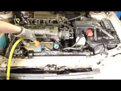 How to flush coolant system Toyota Corolla. Years 1991 to 2000