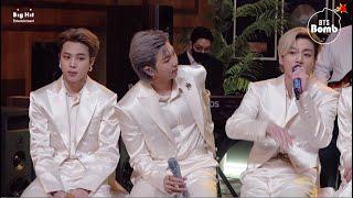 [BANGTAN BOMB] 'Dynamite' Stage CAM (Jimin & RM & Jung Kook focus) @ MTV Unplugged - BTS (방탄소년단)