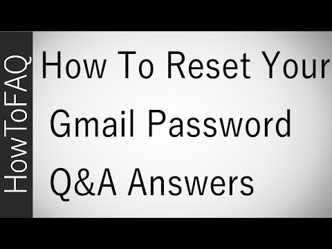 HOW TO RECOVER A GMAIL ACCOUNT PASSWORD WITHOUT A PHONE NUMBER RECOVERY EMAIL SOLUTION FAQ 2017