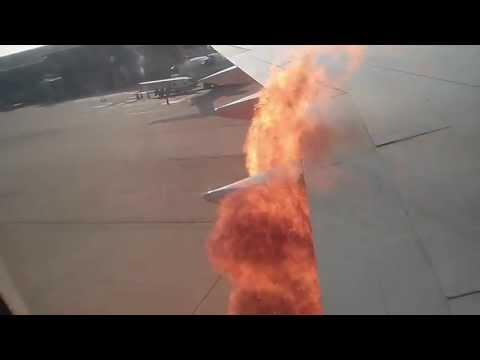 Engine fire! Delta Flight from RDU to ATL
