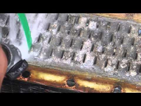 Rodding the radiator on a GM PD 3751