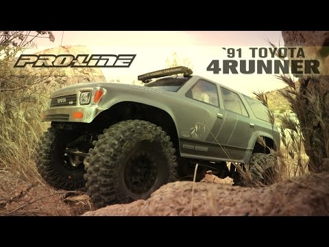 Pro-Line 1991 Toyota 4Runner Clear Body
