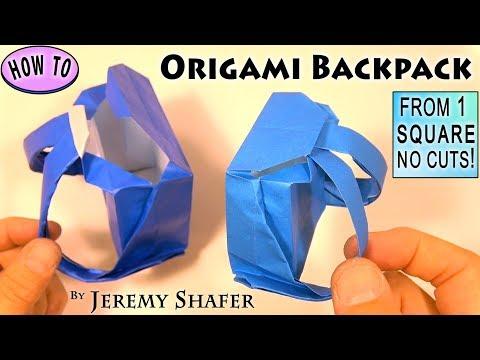 Origami Backpack