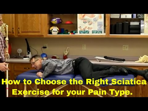How To Choose The RIGHT Sciatica Exercise For Your Pain Type (Herniated or Bulging Disc)