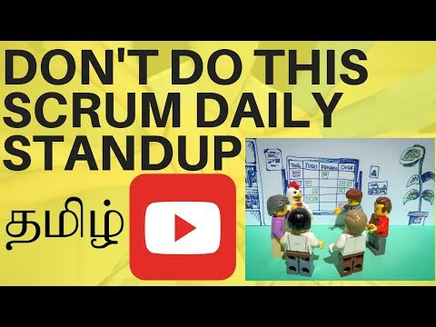 DONT DO THIS IN SCRUM DAILY STANDUP TAMIL