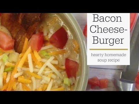 Bacon Cheeseburger Soup Recipe | RadaCutlery.com