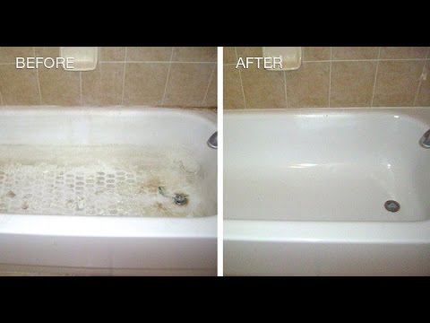 My Neighbor Told Me How to Remove HEAVY STAINS for my Bathtub and Shower by Using only THIS….