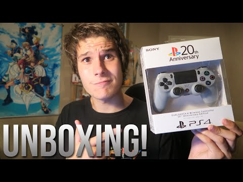 20th Anniversary PS4 Controller Unboxing