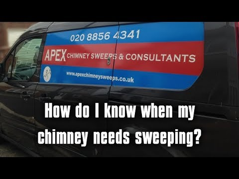 How Do I Know When My Chimney Needs Sweeping ?