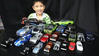 Fast And Furious Cars Collection - Jada Toys