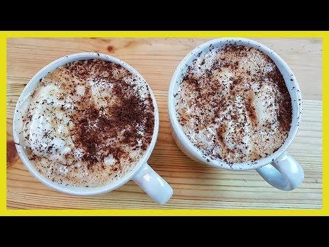 Vanilla Ice Cream Hot Coffee Recipe | How to make Black Coffee with Vanilla Ice Cream