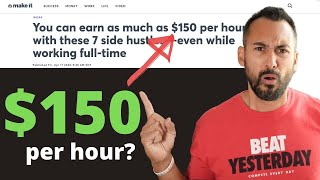 7 Side Hustles That Pay $150 Per Hour | CNBC Make It Reaction