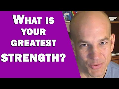 Best way to answer interview questions about your STRENGTHS