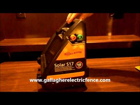 Gallagher S17 Solar electric fence charger