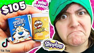 TOO BIG! Unboxing TikTok's NEW Favorite Mystery Box Shopkins Real Littles