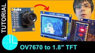 Video/image capture using STM32F407, OV7670 sensor and
