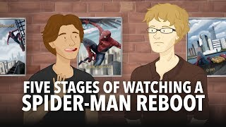 five stages of watching a spiderman reboot