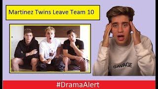 REAL Reason Martinez Twins Left Team 10 & Jake Paul MAD! #DramaAlert Logan Paul vs Jake Paul!