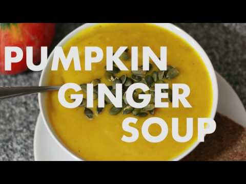 Pumpkin Ginger Soup