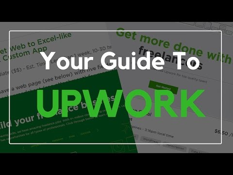 Upwork Tutorial For Beginners (Tagalog-English)