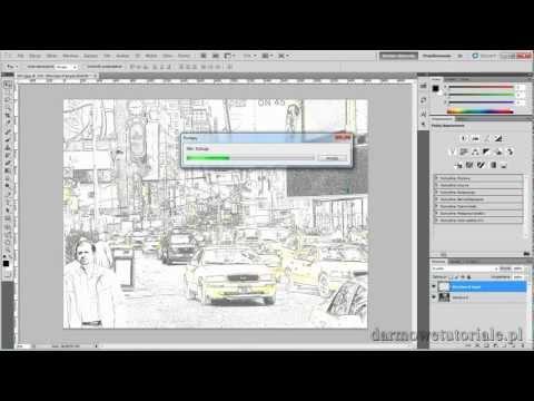 Jak zrobić efekt komiksu w Photoshop CS5 ? / How to make a comic book effect in Photoshop CS5 ?