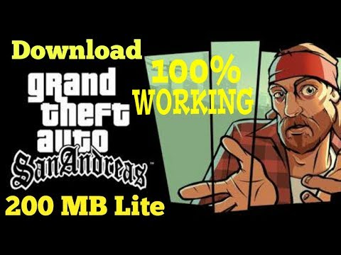 (200mb)DOWNLOAD GTA SAN ANDREAS LITE FOR ANY ANDROID DEVICES