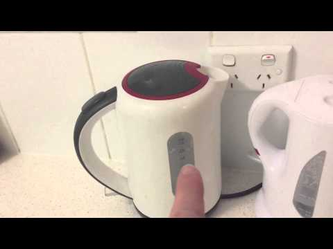 How to remove the new smell smell from a 900w kettle.