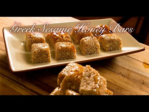 Pasteli: Greek Sesame Honey Bars