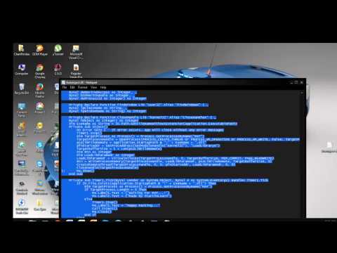 How to make autoinject dll  on Visual Basic .avi