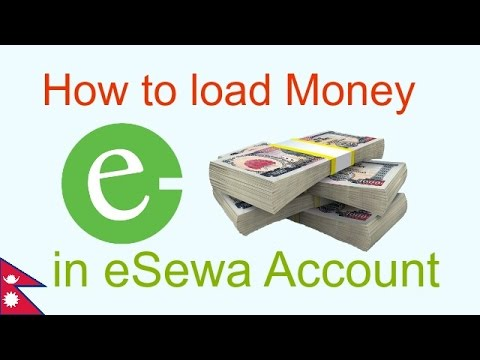 How to load Money in eSewa account