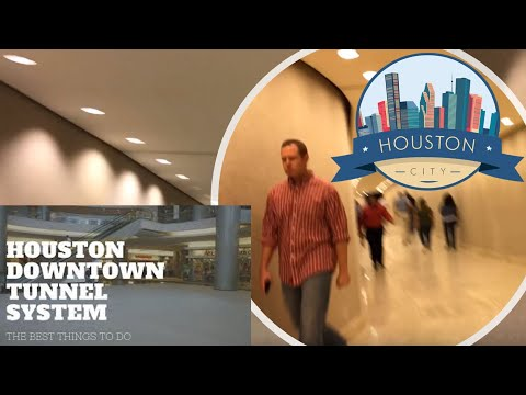 Downtown Houston Tunnels