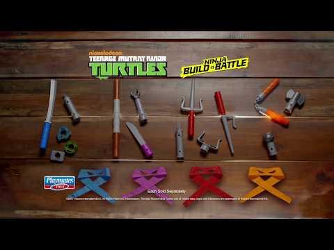 TMNT Build n' Battle Combat Gear Commercial