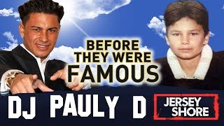DJ PAULY D | Before They Were Famous | Jersey Shore Family Vacation