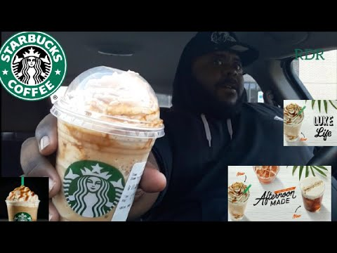 Starbucks NEW ☆Ultra Caramel Frappuccino☆Review!!!