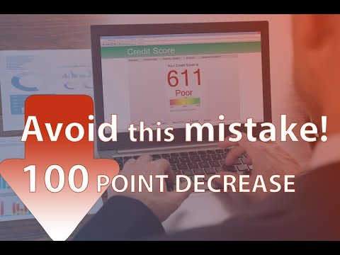 This Mistake can lower your FICO score by 100 points! All Three Bureaus Equifax Experian Transunion